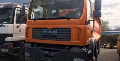 Ανατρεπόμενο φορτηγό MAN 41 FFDC